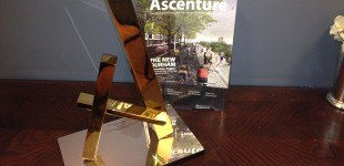 Durham Art of Transition Creative Award for WCC Ascenture Magazine and Bill and Charles ad Campaign